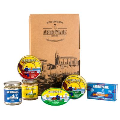 Caja sabores del mar cantabrico