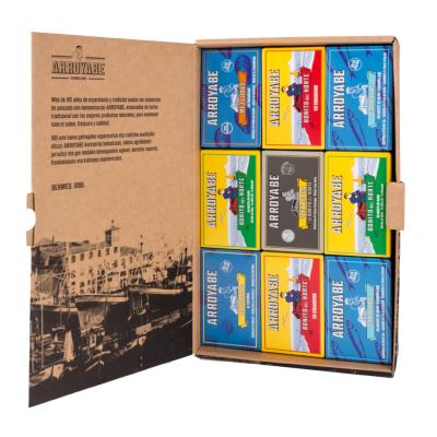 Caja regalo conservas cantabrico lata